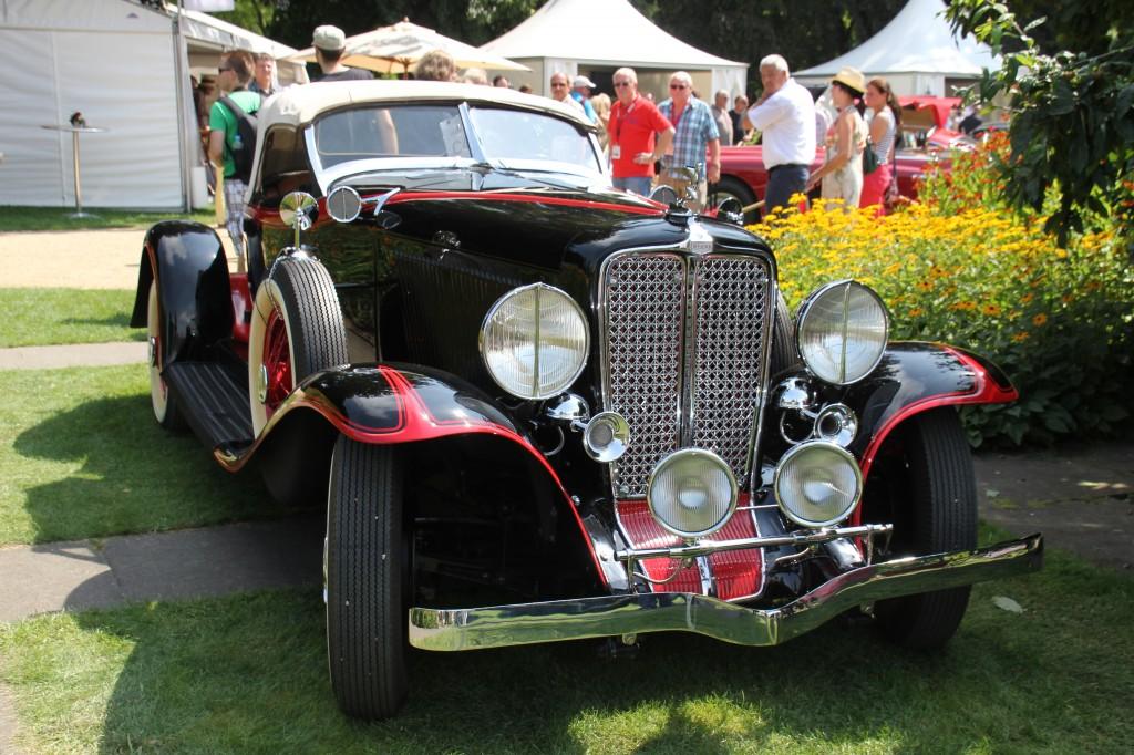 Auburn Speedster während Classic Days