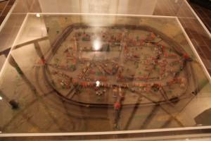 Modell der Festungsanlagen in Dülken